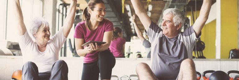 A importância dos exercícios físicos na terceira idade